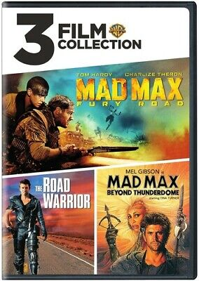 3 Film Collection: Mad Max / The Road Warrior / Mad Max Beyond Thunderdome [New