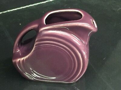 Fiesta Mini Disk Pitcher ~ Heather