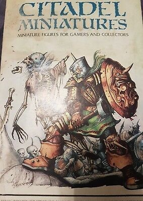 Citadel Miniatures heroic adventurers Starter Set Boxed From early 80's.