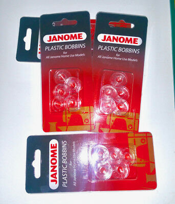 Bobbins Janome For All Janome Home Sewing Machines 1Pkt = 5 Bobbins