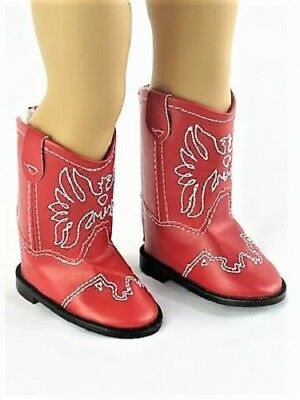 cac5da34481fa BROWN WESTERN COWGIRL Doll Shoes Boots Fits 18 Inch American Girl ...
