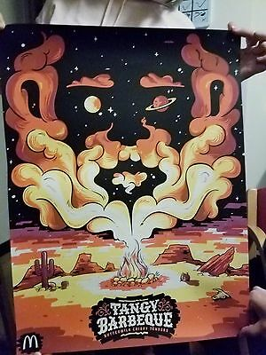Mcdonalds Obsauced OFFICAL Tangy Barbeque Sauce Limited  Poster Rick and Morty