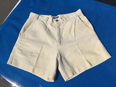 "Vintage 1970's Patagonia Corduroy Hiking Shorts 34"" waist old label AMAZING! NR"