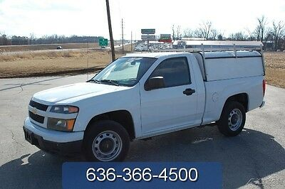 2011 Chevrolet Colorado Work Truck 2011 Work Truck Used 2.9L I4 Automatic Utility Shell  Pickup Truck White Clean