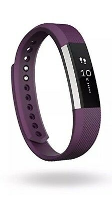 Fitbit Alta Fitness Wristband - Large - Plum Band Fitness Tracker