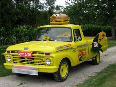 1966 Ford F-100  1966 Ford F-100 Pickup with Mayor McCheese
