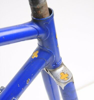 50,5x53 COLNAGO SUPER frame set early 70s rare NO TANGS fork