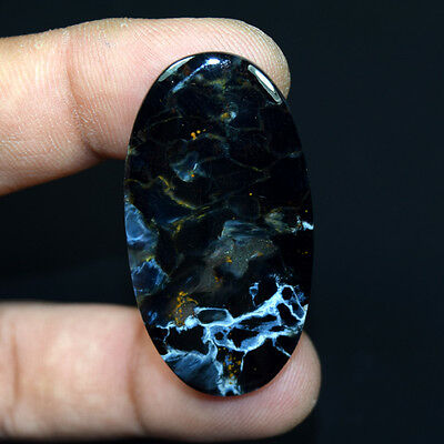 45.45 Cts. 100 % Natural Chatoyant Pietersite Oval Cabochon Loose Gemstones