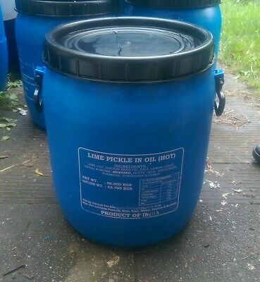 Plastic barrel 50 litres ,storrage,water butts,gardening and pheasant feeders