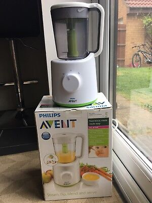 Avent Baby combined steamer and blender