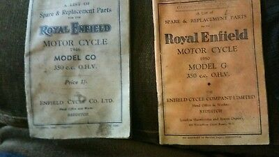 royal enfield spare parts booklet 350cc