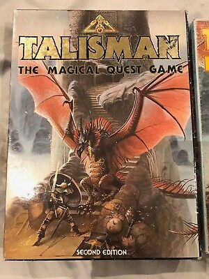 Talisman 2nd edition Board Game PLUS all Expansions Games Workshop