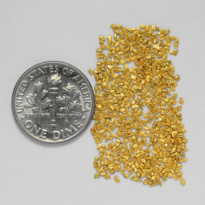 0.7640 Gram Alaskan Natural Gold Nuggets - (#20711) - Hand-Picked Quality