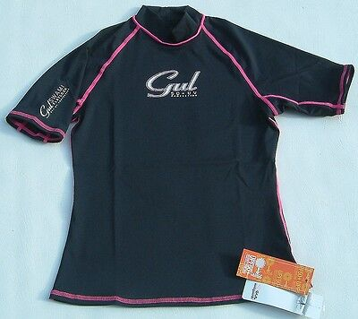 Gul Rash Vest Ladies Size 10 Wetsuit Surf Sail Watersports 50+ Uv Protection