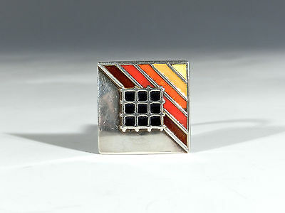 EMBLA Denmark Sixties Silber Email Ring