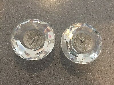 Swarovski Tea Light Candle Holders