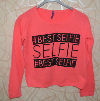 GEMO => Pull court rose fluo taille 14 ans PAT