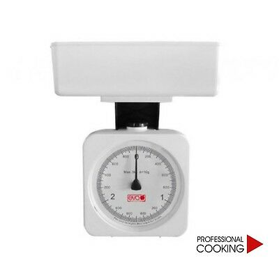 SCALE KITCHEN plastic with CONTAINER for WEIGH KG.3 calibration gr.10