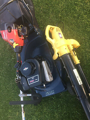 4 Lawn Stroke Mower, Trimmer and free Blower. VGC Briggs & Stratton, Geelong