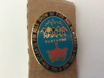 Atlanta Olympic Games 1996 Oval Aminco Pin Show Pin