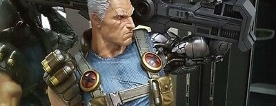 XM Studios Cable 1/4 Scale Statue STGCC EXCLUSIVE, NEW, Factory sealed!
