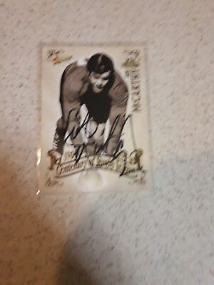 2008 Bob Mccarthy Hand Signed Cent Of League  Select Card