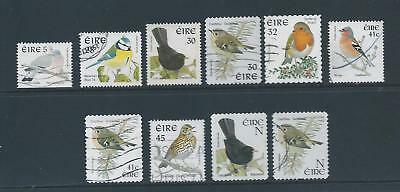 Ireland: FU selection of Bird stamps