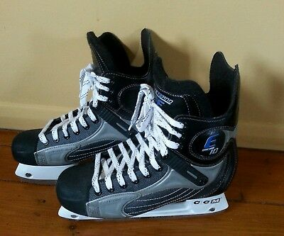 CCM Ice Skates size 8 - Externo high performance in very good condition