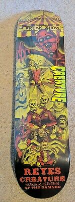 """Creature Ryan Reyes Circus of the Damned Skateboard deck 8 x 31.6"""""""