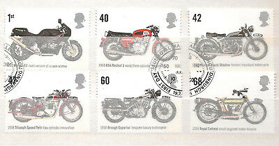 Vend Serie Timbres Obliteres Royaume Uni Annee 2005