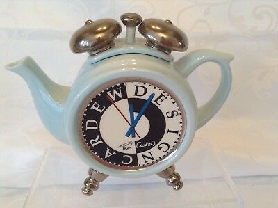 Rare Cardew Novelty Collectable Alarm Clock Teapot In Lovely Condtion