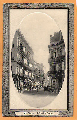 Buenos Aires Argentina 1911 Postcard Mailed to USA