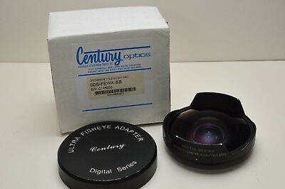 Century Optics 3x Ultra Fisheye Adapter 170/2100 Bay MKII Video Lens