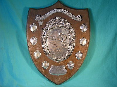 1957 Hampshire County Girls Schools Freestyle Swimming Trophy Shield