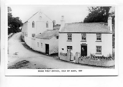 Isle Of Man - Mannin 1983 Limited Edition (250) Rppc Bride Post Office