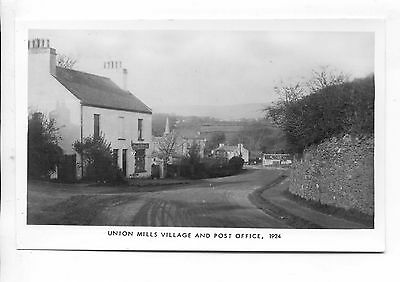 Isle Of Man - Mannin 1983 Limited Edition (250) Rppc Union Mills Post Office