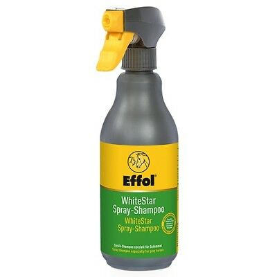 24,80€/L Effol White-Star Spray-Shampoo 500ml Sprühshampoo Schimmelshampoo Pferd