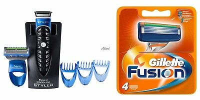 Gillette Fusion Proglide Styler Men Trimmer Shaver with 1+4 Gillette Razor Blade