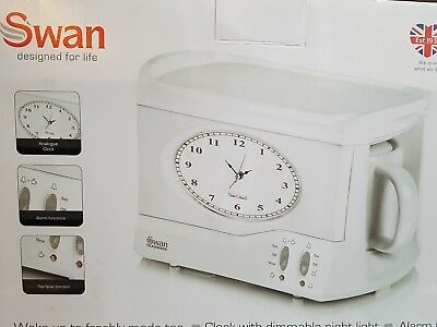 how to set alarm on swan teasmade