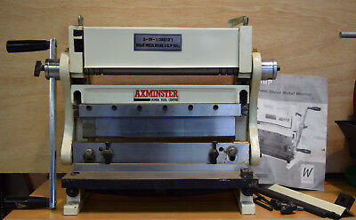 Sheet Metal Worker 305mm by Axminster. Cuts and folds sheet metal.