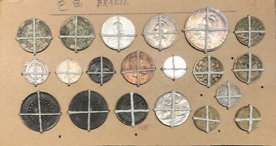 Brazil Coin Lot of 20 Coins