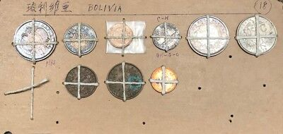 Bolivia Coin Lot of 9 Coins