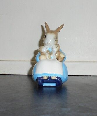 Mrs Rabbit & Bunnies Figurine By Beswick c.1976 w/Original Box