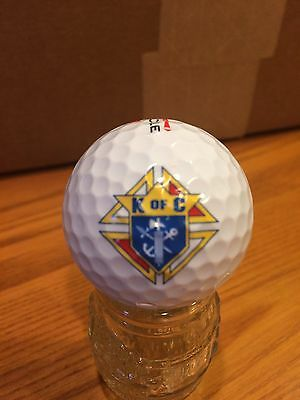 Knights Of Columbus Logo Golf Ball, Old Vintage