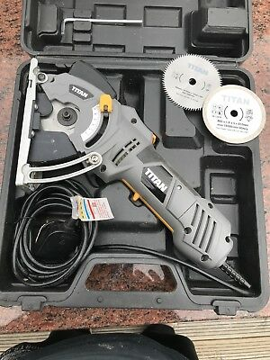 Titan 500W 85Mm Mini Circular Saw 230-240V