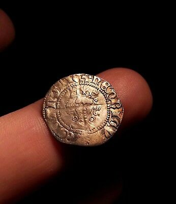 Henry VI penny Calais Mint.  Annulet issue lovely grade