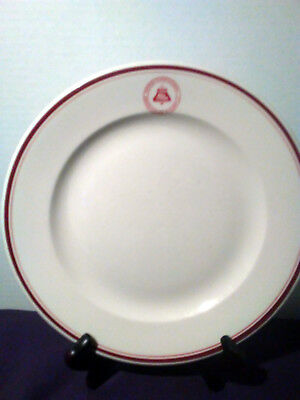 Bell System Southern Bell AT&T Logo Employee Dining Room Plate McNicol China