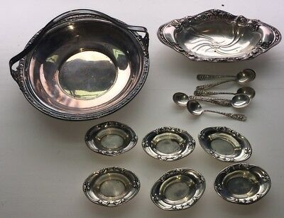 Sterling Silver 925 Scrap Lot Bowls Spoons 1lb 4.7oz 20.7oz 588g Beautiful