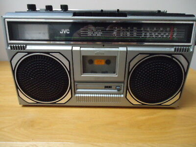 jvc rc 545 lb  boombox / ghettoblaster, fully working, new belts