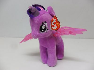 TY My Little Pony Twilight Sparkle Soft Toy/ Plush New With Tags